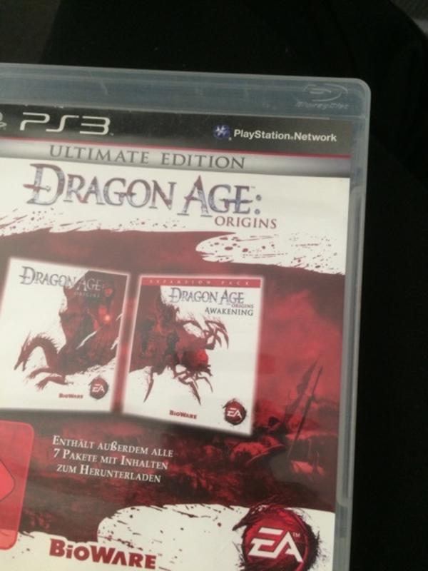 Dragon Age Ultimate Edition PS3 - München Westend - Dragon Age Ultimate Edition PS3 - München Westend