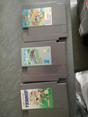 Drei NES Spiele