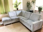 eckcouch couch schwarz wei sofa wie neu in m nchen. Black Bedroom Furniture Sets. Home Design Ideas