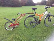 Ein Fahrrad - Trailer -