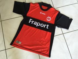 Eintracht Frankfurt Trikot Jako Gr. XS rot/schwarz - NEU
