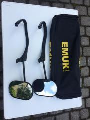 EMUK-Aufsteckspiegel / Wohnwagenspiegel