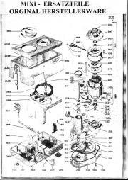 Ersatzteile: Mixi oder Kohler, neueste Ausführung bis anno dazumal ...