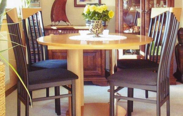 Esstisch rund stuhle gebraucht kaufen nur 2 st bis 70 - Esstisch 4 stuhle ...