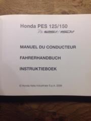 Fahrerhandbuch Honda PES