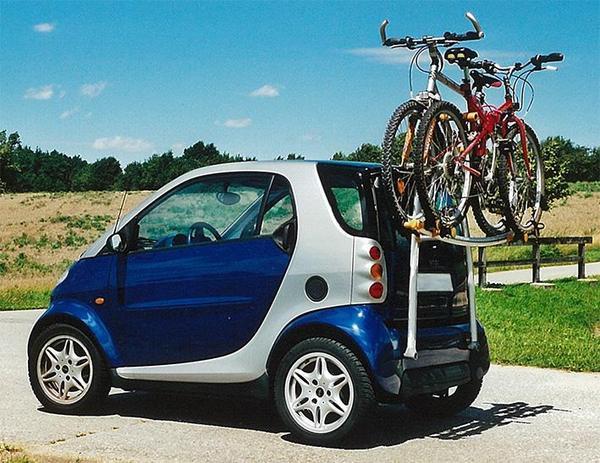 fahrradtr ger f r smart fortwo in n rnberg fahrrad dachgep cktr ger dachboxen kaufen und. Black Bedroom Furniture Sets. Home Design Ideas