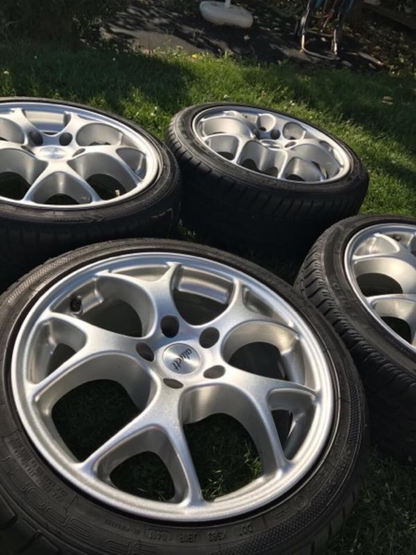 Felgen + Reifen - Worms Innenstadt - Felgen sind in einem guten Zustand ! Reifen sind gebraucht. - Worms Innenstadt