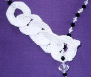 Fiber jewelry black &