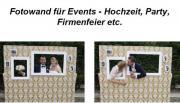 Fotowand für Events,