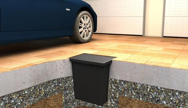 Garagenschachtwanne 65 Liter - NEU - frei