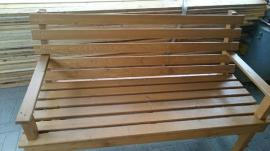 Gartenmöbel - Gartenbank aus Holz Massiv Unikat