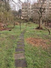 Gartengrundstück an den