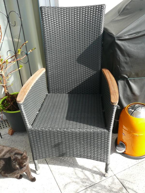 kunststoff gartenst hle neu und gebraucht kaufen bei. Black Bedroom Furniture Sets. Home Design Ideas