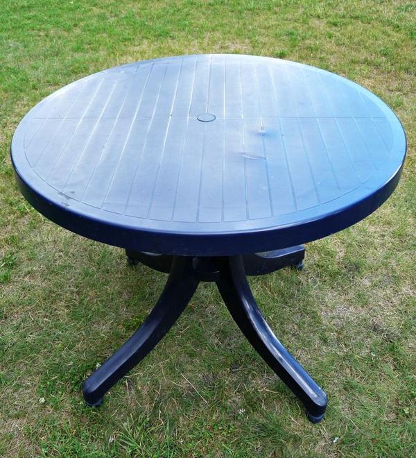 gartentisch blau neu und gebraucht kaufen bei. Black Bedroom Furniture Sets. Home Design Ideas