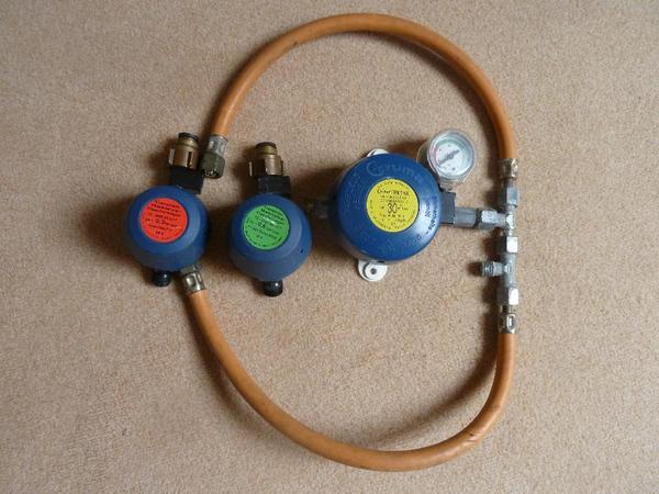 Gasdruckregler Truma Triomatic 30mbar