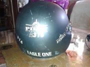gebrachter Motorrad-Helme