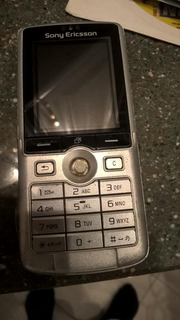 Gebrauchtes gut erhaltenes Sony Ericsson