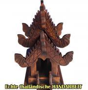 Geisterhaus thailändisches Geisterhaus Teak Holz