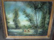 Gemälde Bild Ölgemälde auf Leinwand