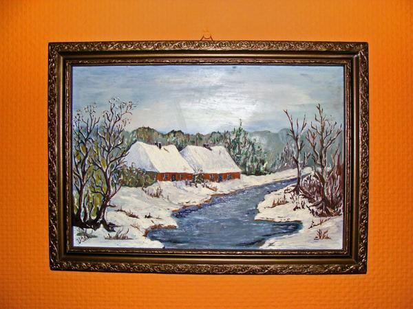 Gemälde rus Herkunft sehr alt