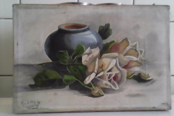 Gemälde, Stilleben , Malerei » Kunst, Gemälde, Plastik
