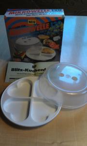 Geschirr für Mikrowelle Blitzkuchenform Kuchenform