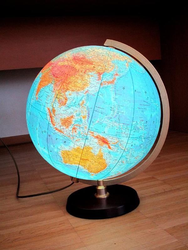Globus beleuchtet in stuttgart dekoartikel kaufen und for Dekoartikel stuttgart