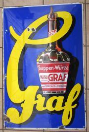 GRAF SUPPENWÜRZE - Emailschild