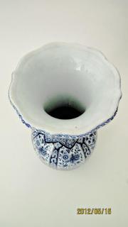 Große Delfter Vase 34x18cm