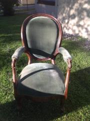 Großer Fauteuil Stuhl