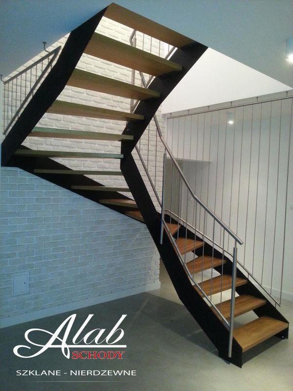 g nstige preise gel nder treppen aus edelstahl stahl glas aus polen in rostock sonstiges. Black Bedroom Furniture Sets. Home Design Ideas