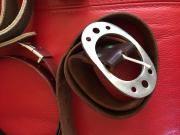 Gürtel Leder für Jeans Tracht