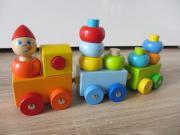 HABA Holzeisenbahn WIE