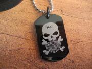 Halskette Anhänger Kette Harley Davidson