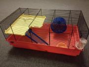 Hamsterkäfig(55cmx30cm)+Kleintierstreu+