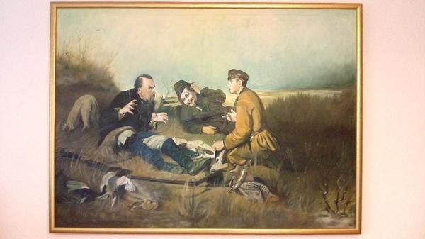 Handgemalte Bilder handgemalte ölgemälde perov vasiliy ohotniki na privale von1871