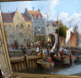 Kunst, Gemälde, Plastik - Harderwijk Gelderland Niederlande H Petersen