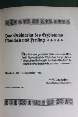 Bild 4 - Haussegen- Familienbuch für s katholische Volk - Niederfischbach
