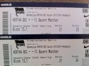 Hertha gegen Bayern (