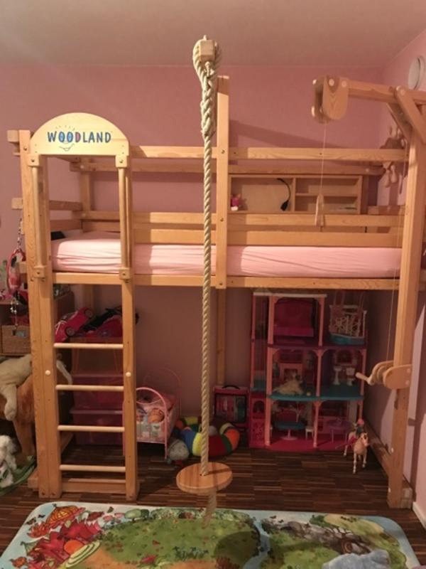 Leiter f r hochbett neu und gebraucht kaufen bei for Jugendzimmer naturholz