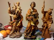 Holzschnitzer Figuren