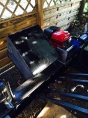 Holzspalter Benzin fahrbar