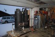 Holzvergaser Prototyp zu