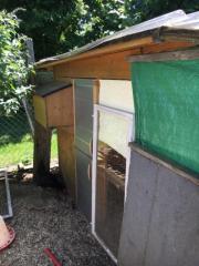 Hühnerstall isoliert