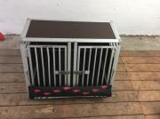 Hundebox Doppelbox Schmidt