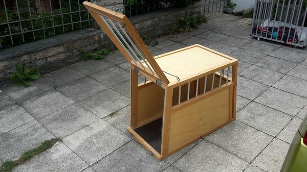 hundebox holz alu mittlere gr e in m nchen zubeh r f r. Black Bedroom Furniture Sets. Home Design Ideas