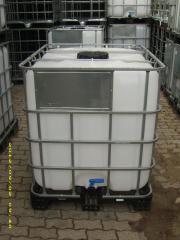 IBC-Wassertanks