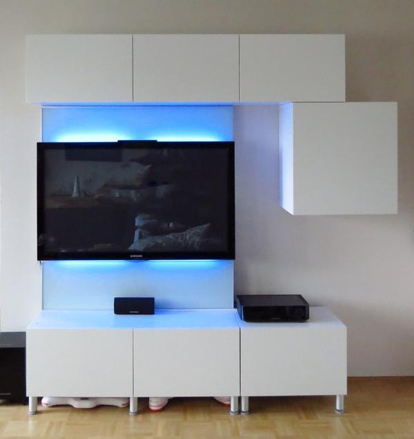 ikea besta mediawand in ottobrunn ikea m bel kaufen und verkaufen ber private kleinanzeigen. Black Bedroom Furniture Sets. Home Design Ideas