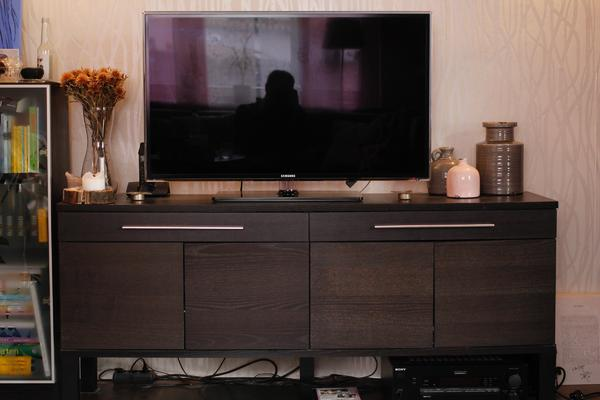 ikea bjursta sideboard schwarzbraun in heidelberg ikea. Black Bedroom Furniture Sets. Home Design Ideas