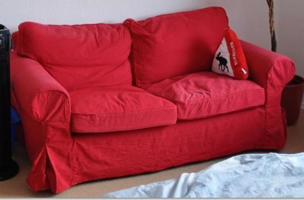 Ikea Sofa Rot ~ Ikea ektorp er sofa couch rot oder jede andere farbe in